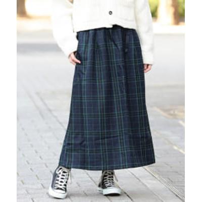 GRAMICCI × BEAMS BOY / 別注 チェック スカート