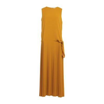 アリジ ALYSI ロングワンピース&ドレス オークル 44 ポリエステル 94% / ポリウレタン 6% ロングワンピース&ドレス