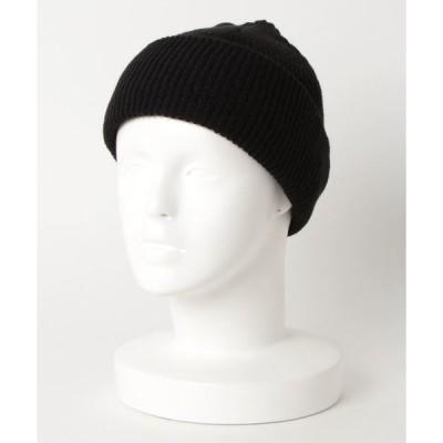 帽子 キャップ 【SI Original】抗菌消臭あぜ編みショートニットキャップ