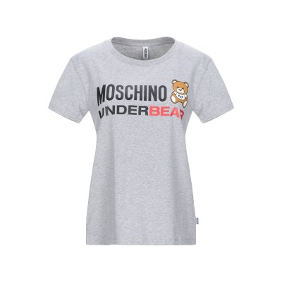 モスキーノ MOSCHINO アンダーTシャツ グレー XS コットン 92% / ポリウレタン 8% アンダーTシャツ
