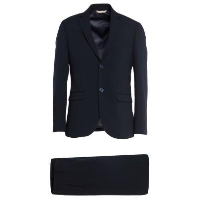 ALESSANDRO GILLES スーツ ブルー 46 ウール 65% / レーヨン 30% / ポリウレタン 5% スーツ