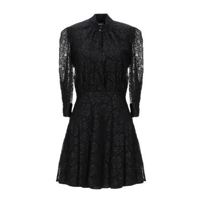 ジャストカヴァリ JUST CAVALLI ミニワンピース&ドレス ブラック 40 ナイロン 64% / ポリエステル 36% ミニワンピース&ドレス