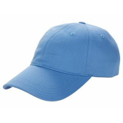ラコステ メンズ 帽子 アクセサリー Side Graphic Cap Turquin Blue