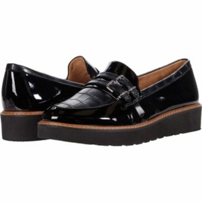 ナチュラライザー Naturalizer レディース ローファー・オックスフォード シューズ・靴 Eiffel Black Patent