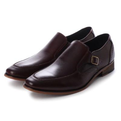 定価8,778円(30%引き) ALPHA CUBIC アルファキュービック AC301 本革 ビジネスシューズ アンティーク仕上げ メンズシューズ 牛革 紳士靴 バーガンディ