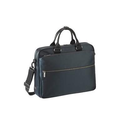 【カバンのセレクション】 エースジーン ビジネスバッグ メンズ A4 軽量 ace.GENE 62523 スリブライト ユニセックス ネイビー フリー Bag&Luggage SELECTION