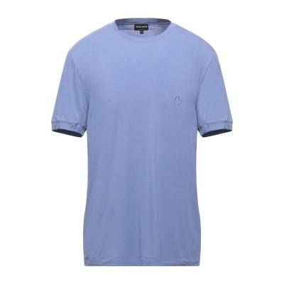 ジョルジオ アルマーニ GIORGIO ARMANI T シャツ ライラック 46 レーヨン 90% / ポリウレタン 10% T シャツ