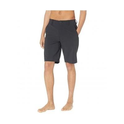 "Rip Curl リップカール メンズ 男性用 ファッション ショートパンツ 短パン Global Entry Boardwalk 20"" Hybrid Shorts - Black"