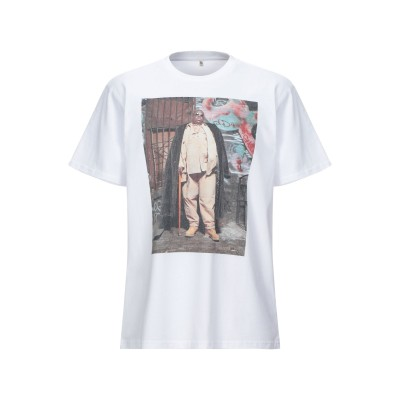 アール・サーティーン R13 T シャツ ホワイト L コットン 100% T シャツ