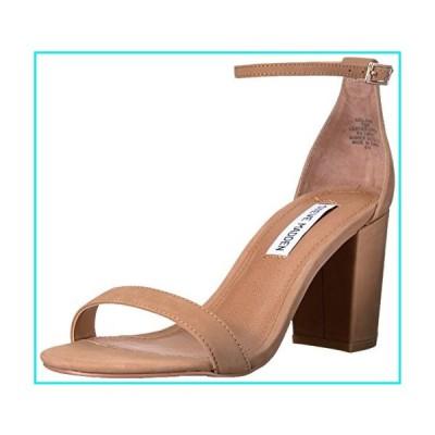 Steve Madden Women's Declair Dress Sandal, Camel Nubuck, 8 M US【並行輸入品】