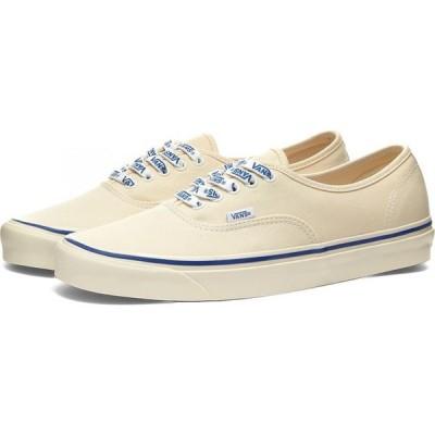 ヴァンズ Vans メンズ スニーカー シューズ・靴 authentic 44 dx lace White/Vans Lace