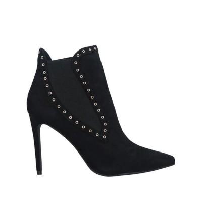 CAFENOIR ショートブーツ ファッション  レディースファッション  レディースシューズ  ブーツ  その他ブーツ ブラック