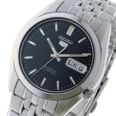 セイコー SEIKO セイコー5 SEIKO 5 自動巻き メンズ 腕時計 SNK357K1 ブラック ブラック