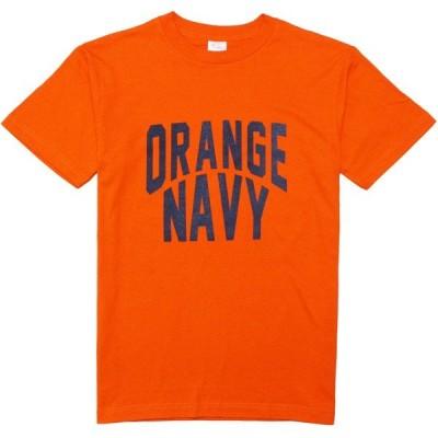 GRAVY'S ORANGE NAVY CREW NECK TEE ORANGE Tシャツ 半袖 オレンジネイビー