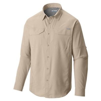 (取寄)コロンビア メンズ シルバー リッジ ライト ロング スリーブ シャツ Columbia Men's Silver Ridge Lite Long Sleeve Shirt Fossil