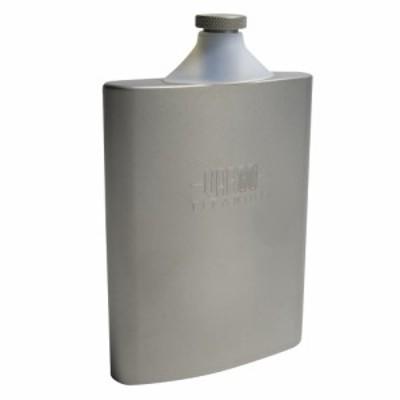 VARGO チタン製スキットル 酒用ボトル 容量240ml ファンネル付き[vr447]