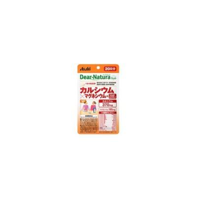 《アサヒ》 ディアナチュラ カルシウム×マグネシウム+マルチビタミン 80粒/20日分 (栄養機能食品)
