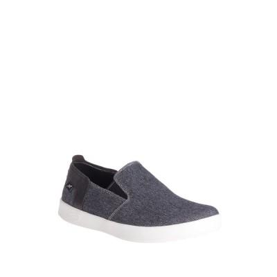チャコ メンズ スニーカー シューズ Davis Slip-On Sneaker BLACK