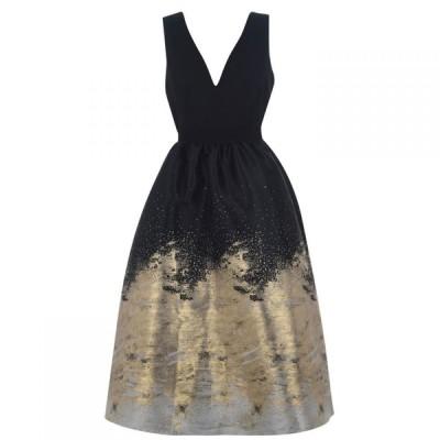 リトル ミストレス Little Mistress レディース パーティードレス ミドル丈 ワンピース・ドレス Midi Palace Dress Black