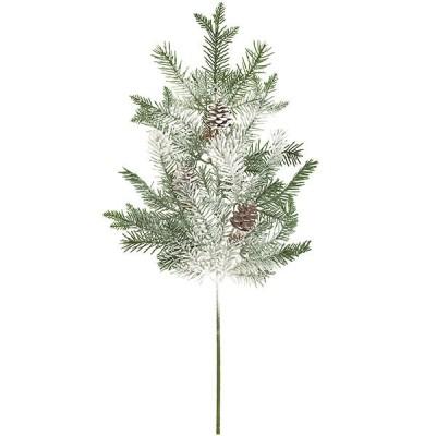 造花 クリスマス花材 全長70cm スノーパイン 人工観葉植物 花材 アレンジ イベント