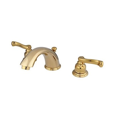 Kingston Brass KB8962FL Royale Widespread Bathroom Faucet with Brass P