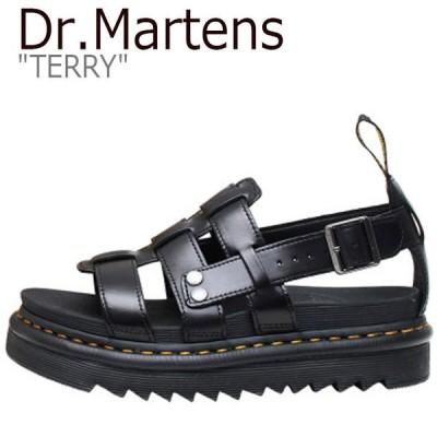 ドクターマーチン サンダル Dr.Martens メンズ レディース TERRY テリー BLACK ブラック DMT23521001 23521001 シューズ