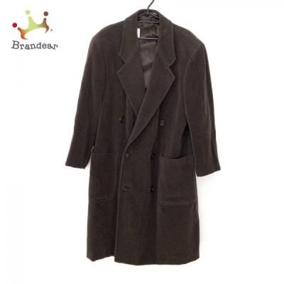 ジョルジオアルマーニ GIORGIOARMANI コート メンズ 美品 - ダークグレー 長袖/ロング丈/冬 新着 20210302