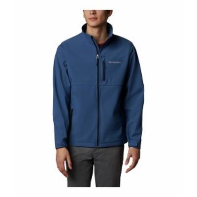 コロンビア メンズ コート アウター Ascender Softshell Jacket Night Tide/Collegiate Navy Zips