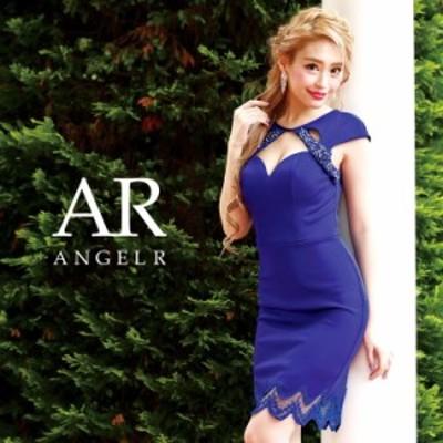 Angel R エンジェルアール ドレス キャバ ドレス キャバドレス エンジェル アール ドレス デコルテデザインカット異素材ミックスタイトミ
