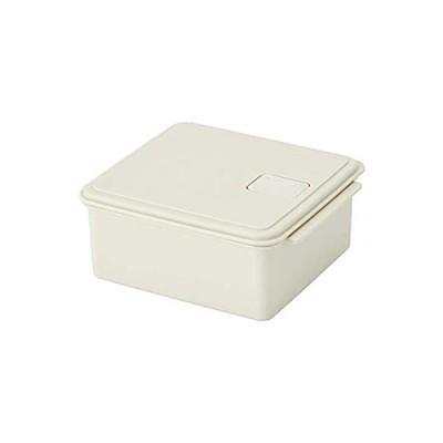 スケーター ゆで野菜調理ケース S 1.0L パウダーカラー ホワイト UDY1