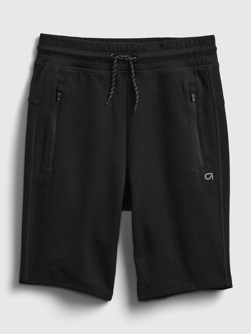 男童 基本款拉鍊插袋運動短褲