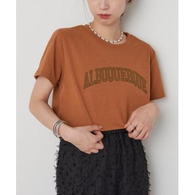 "CIAOPANIC / ECORICH""ALBUQUERQUE""Tee/ロゴプリントTシャツ WOMEN トップス > Tシャツ/カットソー"