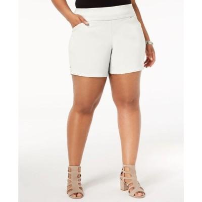 アイエヌシーインターナショナルコンセプト レディース ハーフパンツ・ショーツ ボトムス INC Plus Size Pull-On Shorts