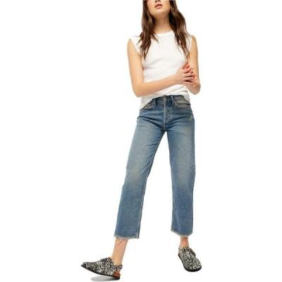フリーピープル Free People レディース ジーンズ・デニム ボトムス・パンツ Fast Times High-Rise Mom Jeans Indigo Blue