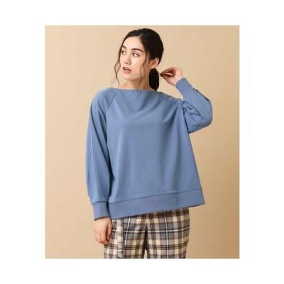 eur3 / 【大きいサイズ/洗える】裾リブカラースウェット