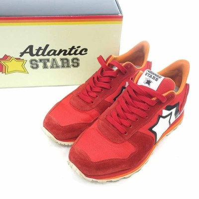 アトランティックスターズ/ATLANTIC STARS ANTARES FR PR LARB スニーカー 40A21 サイズ メンズ43 レッド ランクB 102  (中古)