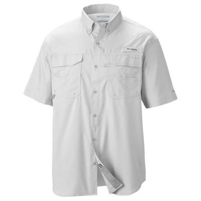 コロンビア シャツ メンズ トップス Columbia Men's Blood And Guts III SS Woven Shirt White