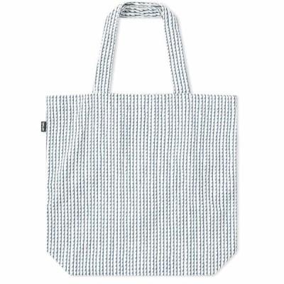 アルテック Artek メンズ トートバッグ バッグ Rivi Canvas Bag White/Blue