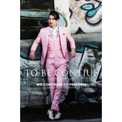 メンズファッション リクルートスーツ セットアップ ビジネス ピンク フォーマルスーツ 13935 メンズスーツ 3点セット