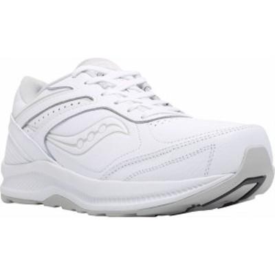 サッカニー メンズ スニーカー シューズ Men's Saucony Echelon Walker 3 Walking Sneaker White