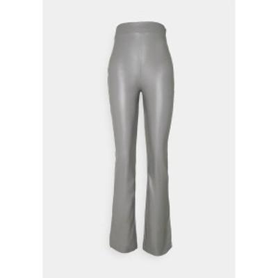 ニリーバイネリー レディース カジュアルパンツ ボトムス SIDE CUT PANTS - Trousers - gray gray