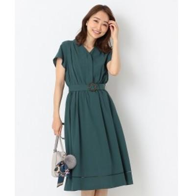エニィスィス Sサイズ(any SiS S)/【洗える】カラーレスシャツ ワンピース