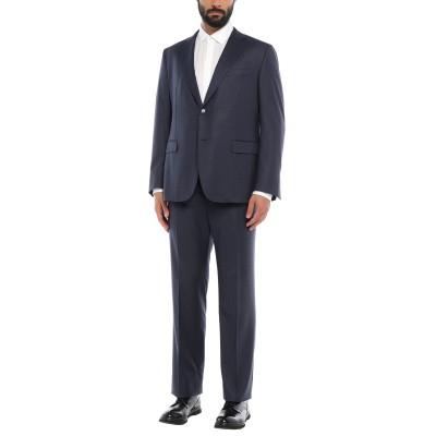RAVAZZOLO スーツ ダークブルー 56 バージンウール 100% スーツ