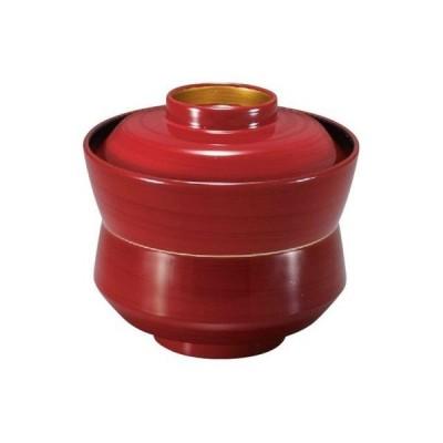 杵型吸物椀 (小) 紅ライン高台内金
