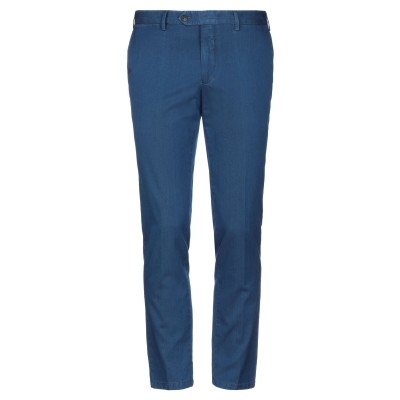UNGARO パンツ ブルー 50 コットン 100% パンツ