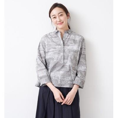 【コレックス/collex】 【STAMP AND DIARY】 シャツカラープルオーバーシャツ