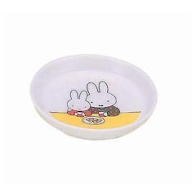 メラミンお子様食器 「ミッフィー」 M-8C小皿ミッフィー