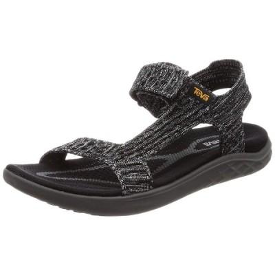 テバ サンダル Terra-Float 2 Knit Universal 1091593 Black/Grey US US05(22 cm)