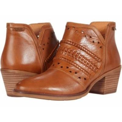Pikolinos レディース 女性用 シューズ 靴 ブーツ アンクル ショートブーツ Huelma W2Z-8628 Brandy【送料無料】