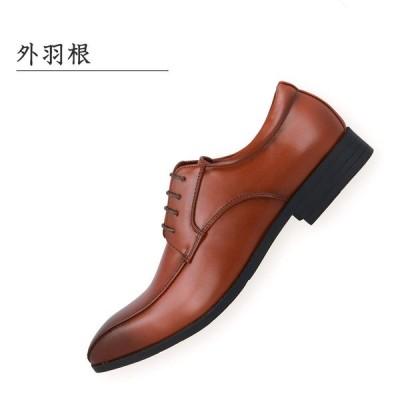 ベネフォース ビジネスシューズ メンズ スワールモカシン 紳士靴 外羽根 8111 BROWN 25.0cm